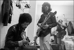 Jimi and Mick