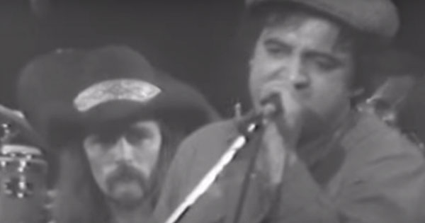 The Allman Brothers Band with Blues Brother John Belushi