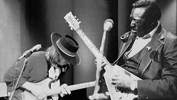Albert King Stevie Ray Vaughan In Session