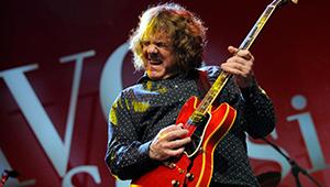 Gary Moore blues musician guitarist