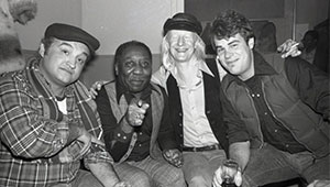 Muddy Waters Johnny Winters and the Blues Brothers